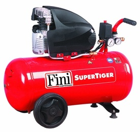 COMPRESOR CU PISTON,230V,1.8KW,260L/MIN,RECIPIENT 50L SUPERTIGER/I285M