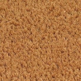 Covoraș intrare fibră nucă cocos 2 buc. 17 mm 40x60 cm Natural