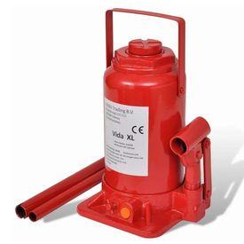 Cric Hidraulic 20 tone Roşu pentru ridicat autovehicole