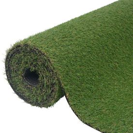 Gazon artificial 1 x 8 m/20-25 mm verde