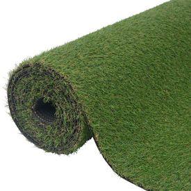 Gazon artificial 1 x 8 m/20-25 mm verde
