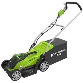 Greenworks Mașină tuns iarba 2 x baterie 2 Ah 40 V G40LM35, 2501907UC