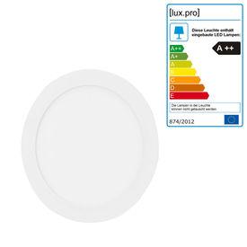 Lampa panou LED - 18W - ø23cm rotunda- alb neutru