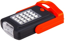 Lanterna 23 Leduri Portabila cu Picior Magnetic si Carlig 2 Moduri / Nr. Led: 23