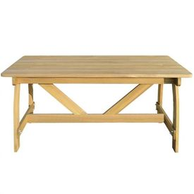 Masă de grădină din lemn de pin tratat
