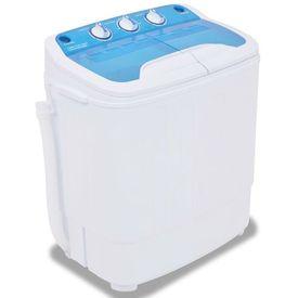 Mașină de spălat mini, cuvă dublă, 5,6 kg
