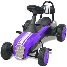 Mașinuță kart cu pedale, mov