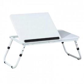 Masuta pentru notebook, alb, GL EVALD