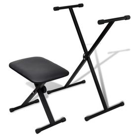 Orgă electronică + Cadru reglabil și scaun