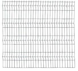 Panou Bordurat Zincat pt Gard - 2.5x1.5 - 653089