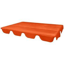 Parasolar rezervă pentru leagăn grădină, 249x185cm, portocaliu
