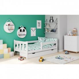 Pat pentru copii cu sertar HM Marinella alb