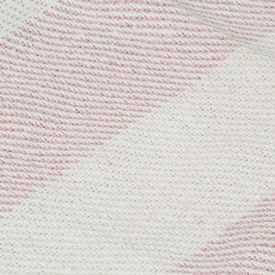 Pătură decorativă, roz învechit, 160 x 210 cm, bumbac, dungi