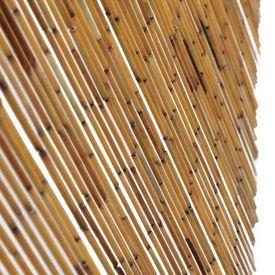 Perdea de ușă pentru insecte, bambus, 56x185 cm
