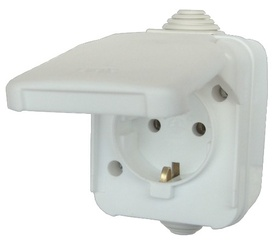 Priza cu Capac AG PT CP IP 44 - 658192