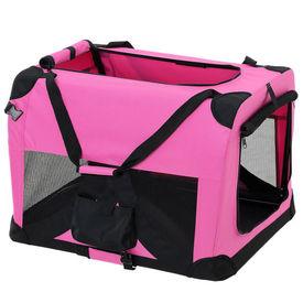 [pro.tec]® Geanta transport patruped - box L roz