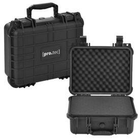 [pro.tec]® Valiza universala protectie AAWK-5502, 35 x 29,5 x 15 cm, plastic, negru