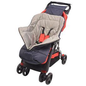 Sac de dormit pentru copii/cărucior 90 x 45 cm, bleumarin