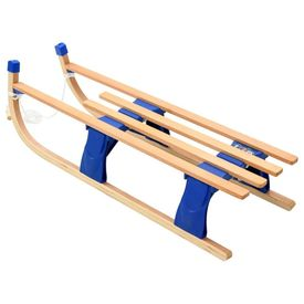 Sanie pliabilă din lemn, 110 cm