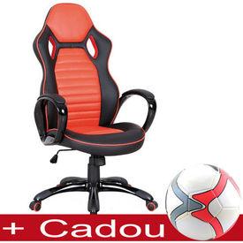 Scaun gaming SL Q105 negru - portocaliu