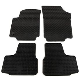 Set covorașe auto adaptate, 4 buc., cauciuc, VW UP Mii Citigo