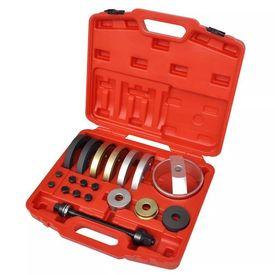Set scule ansamblu compact rulment butuc 62 mm, 66 mm, 72 mm, 19 buc.