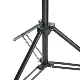Sistem de suport fundal, 600 x 300 cm, negru