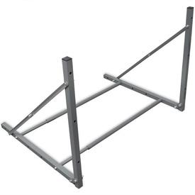 Suport pliabil pentru anvelope, oțel galvanizat, argintiu