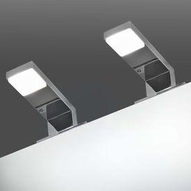 vidaXL Corpuri de iluminat pentru oglindă, 2 buc., 2 W, alb rece