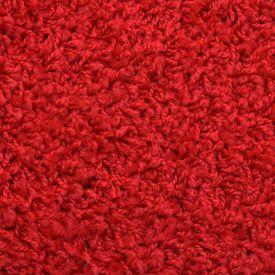 vidaXL Covorașe de scări, 15 buc., roșu, 56 x 20 cm