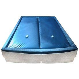 vidaXL Set saltea pat cu apă cu căptușeală și separator 180x200 cm F5