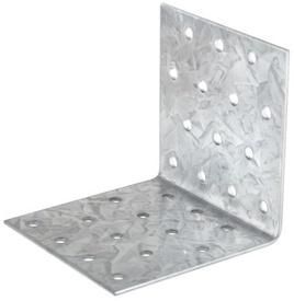 Vinclu Placa Perforata de Imbinare Lemn - 100x100x60x2 - 649207