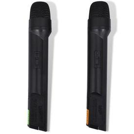 Set VHF receiver cu 2 microfoane fără fir