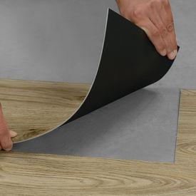 Parchet laminat design vinilin Model 4 - PVC – dusumea - 4 db = 1,114 qm Deschis, stejar mat, dublu striat