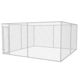 Adăpost exterior pentru câini, 400 x 400 cm