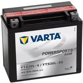 Baterie Varta motocicletă Powersports AGM Battery YTX20L-4/YTX20L-BS