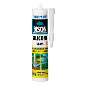 BISON Silicon sticla transp. 280ml