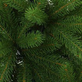 Brad de Crăciun artificial cu coș, verde, 65 cm