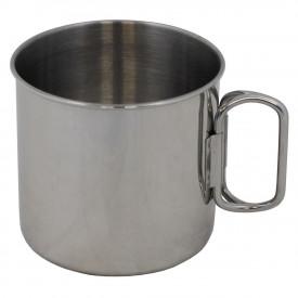 Cana inox 450 ml, cu maner pliabil