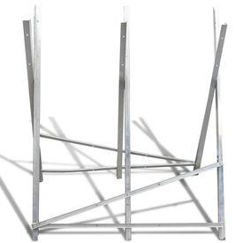 Capră din metal galvanizat pentru tăiat lemne pliabilă