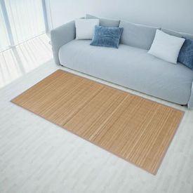 Carpetă dreptunghiulară din bambus 200 x 300 cm, maro