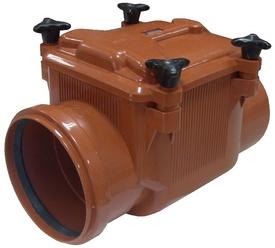 Clapeta Antiretur cu Capac PP - 125 mm - 673094