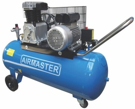 Compresor cu piston Airmaster AIR3SHU10100, 100 l, 2200 W, 10 Bar