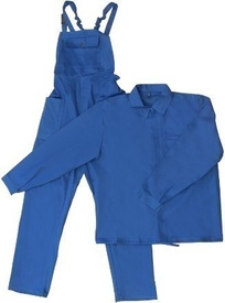 Costum Albastru Haina si Pantalon cu Pieptar 58 - 645093