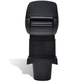 Cotieră Mașină Negru pentru Toyota Yaris (2008)