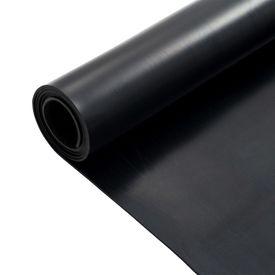 Covor de cauciuc anti-alunecare, 1,2 x 2 m, 3 mm, neted