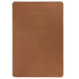 Covor de iută cu spate din latex, 190 x 240 cm, maro