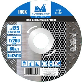 Disc Abraziv Evoselect A24 Special 115x6mm - 674093