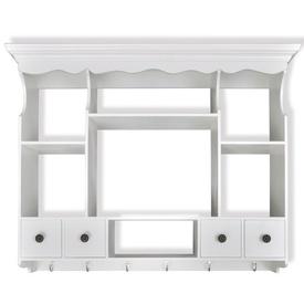 Dulap de perete pentru bucătărie, lemn, alb