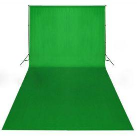 Fundal verde, 600 x 300 cm, Chroma Key